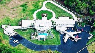 10 unglaubliche Häuser - Die Stars Millionen gekostet haben!