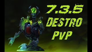 WoW Legion | 7.3.5 Destruction Warlock PvP [Asek]