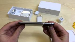 iPhone 6 64GB Space Grey unboxing PL