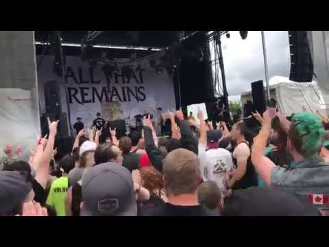 All That Remains - Madness live at montebello rockfest 2017
