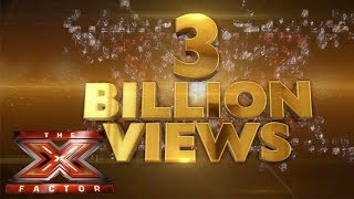 The X Factor hits 3 billion views!