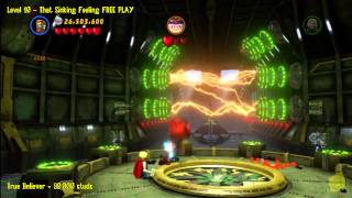 Lego Marvel Super Heroes: Level 10 That Sinking Feeling - FREE PLAY (Minikits & Stan In Peril) - HTG