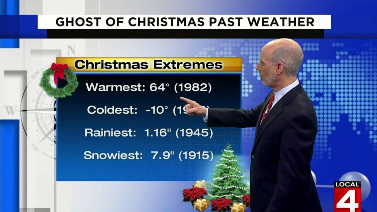 Warmest Christmas in Detroit was back in 1982