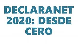DECLARACIÓN PATRIMONIAL: DECLARANET 2020, PASO A PASO.