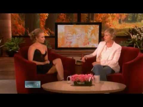Hayden Panettiere Interview on Ellen 10/23/08
