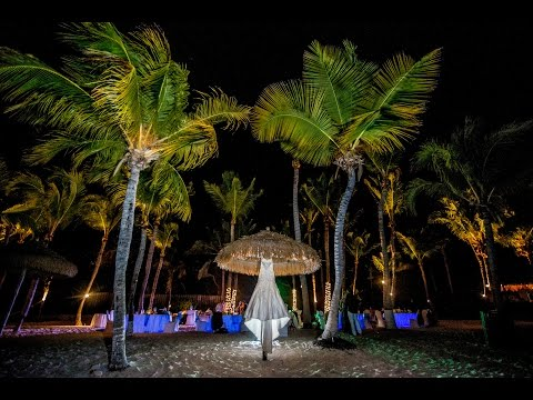 Destination Wedding in Aruba Part 4- The Reception- Off Camera Flash, LED Lighting by Jason Lanier
