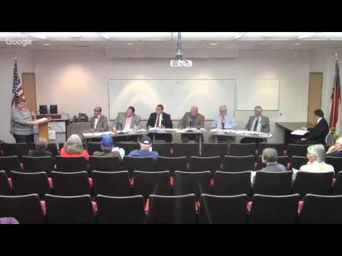 Madison County NC Board Of Commissioners Meeting for October 11th, 2016