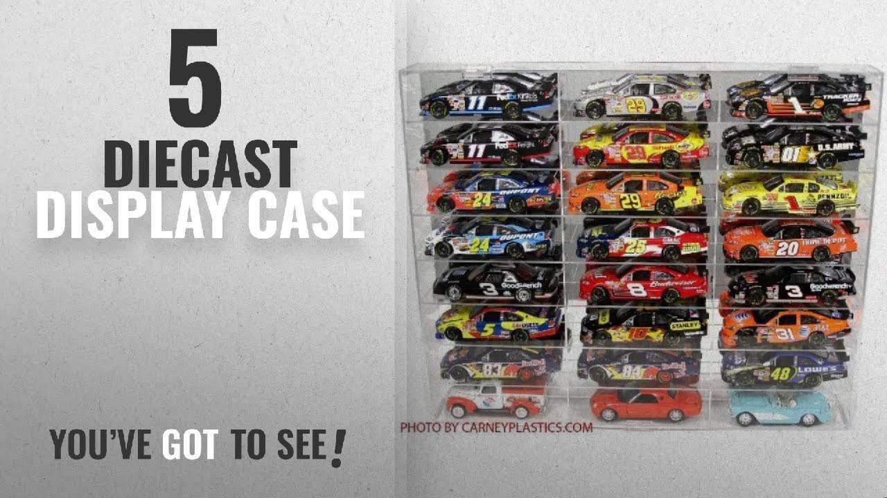 Top 10 Diecast Display Case 2018 Nascar Diecast Model Car Display Case 124 Scale 24