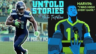Percy Harvin Says He Was High Every Game He Played | Untold Stories