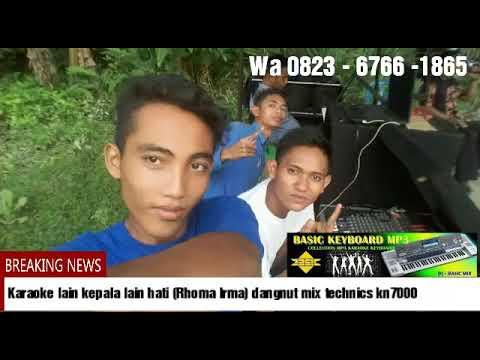 putra musik karaoke lain kepala lain hati (Rhoma lrma ) dangnut kn 7000