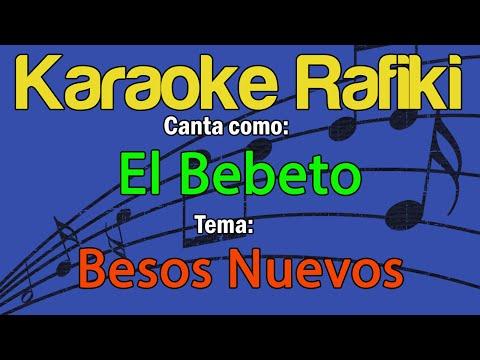 El Bebeto - Besos Nuevos (Versión Mariachi) Karaoke Demo
