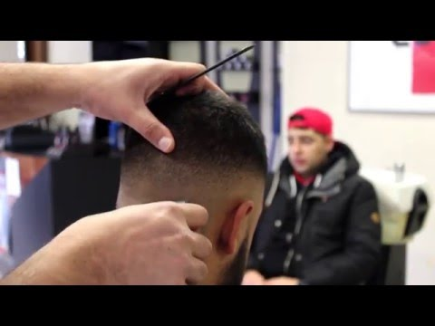 Barber Hair art. Fades & Lines