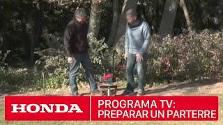 Preparar un parterre para tu jardín - El Jardín de Carles Herrera #12