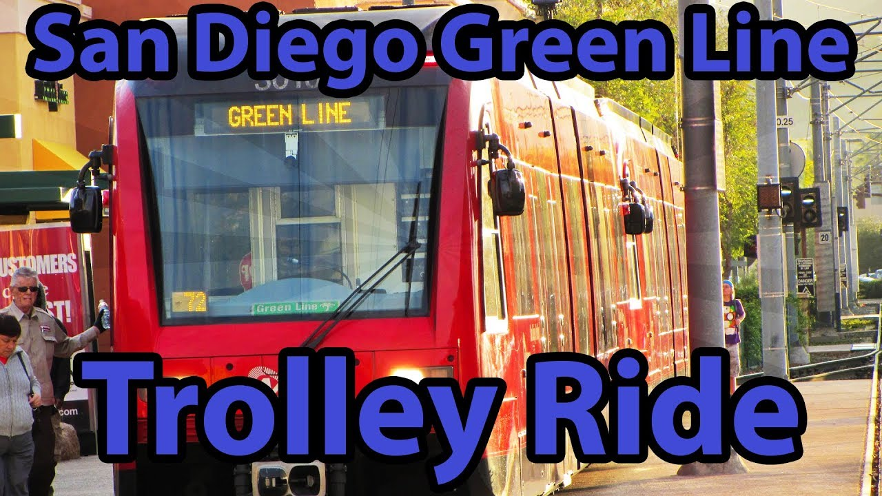 san diego green line trolley ride a life in video 14 youtube. Black Bedroom Furniture Sets. Home Design Ideas
