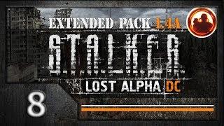 СТАЛКЕР Lost Alpha DC Extended pack 1.4 Прохождение 08 Происшествие в Баре.