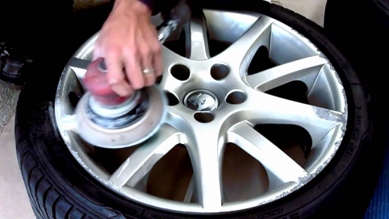 Wheel Restoration Alloy Wheel Repair Youtube
