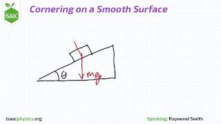 cornering on a smooth surface circular motion level 4