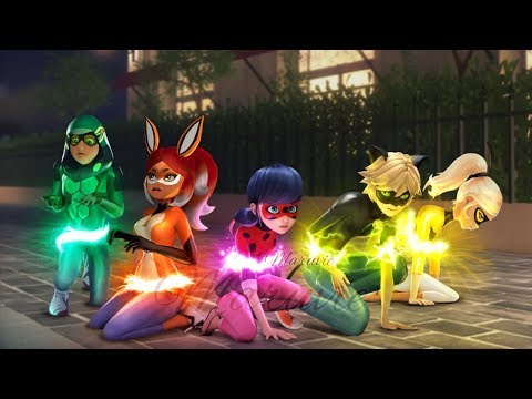 Day of Heroes! The Big Reveal of Fox Girl, Turtle, Bee Girl, Black Cat. New powers are awakening!