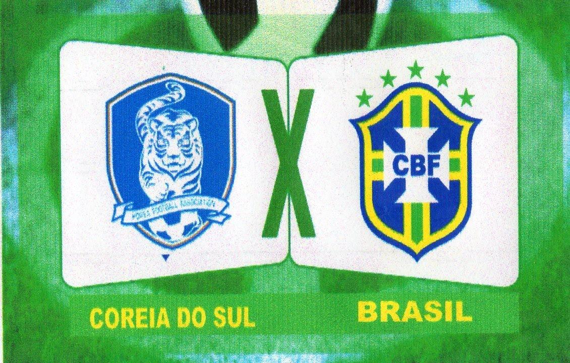 Resultado de imagem para Brasil x Coréia do Sul