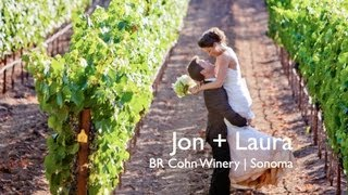 Jon + Laura's Sonoma, CA Vineyard Wedding