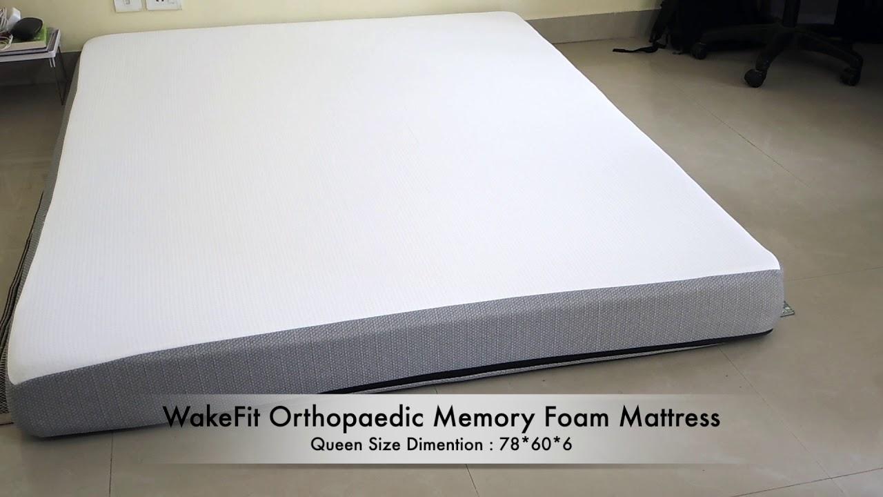 Wakefit Orthopedic Memory Foam Mattress