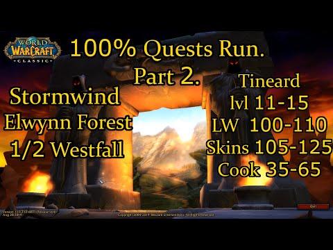 [WoW Classic] 100% Quests Run. Part 2: Hunter - Stormwind, Elwynn Forest, Westfall/2.