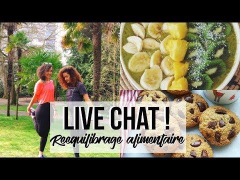 LIVE CHAT Q&A |  DÉBUTER UN REEQUILIBRAGE ALIMENTAIRE & MOTIVATION