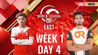 [EN] W1D4 - PMWL EAST - Super Weekend | PUBG MOBILE World League Season Zero (2020)