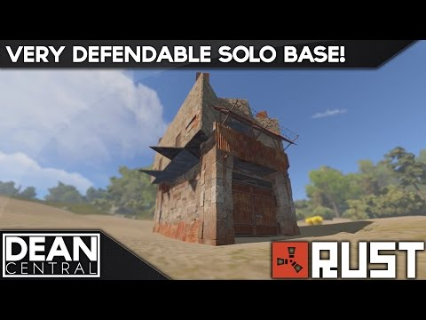 VERY STRONG Solo Player Base Design - [ Rust ]