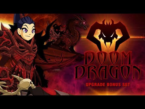 AQW!!!Doom Dragon Warrior Upgrade Bonus!!