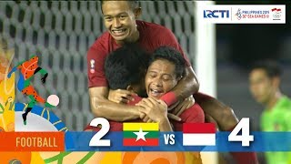 MYANMAR 2 - 4 INDONESIA | SEMIFINAL | FOOTBALL SEAGAMES 2019