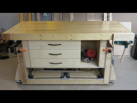 The Ultimate Modern Woodworking Workbench
