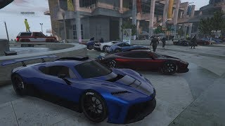 Livestream - GTA 5 - CONCEPT/LIMITED PRODUCTION CAR MEET and Racing Playlist PS4
