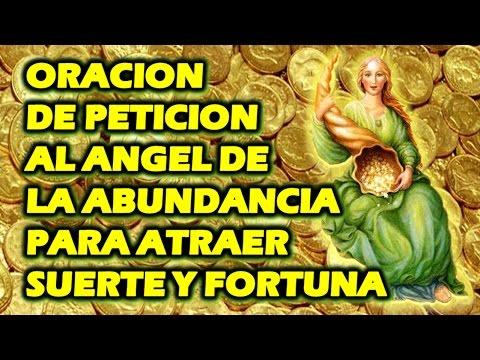 Oracion de peticion al angel de la abundancia para atraer - Para atraer la suerte ...