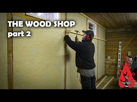 Building the wood shop 2