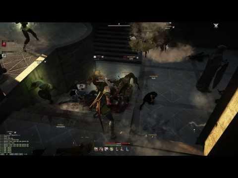 Black Desert Online Beta Siege Flanking Artillery and Defending Keep UHD