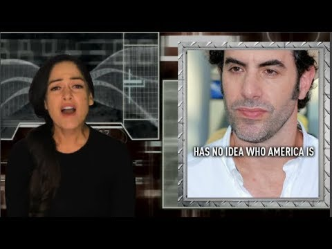 Brit Sacha Baron Cohen asks, 'Who is America?', officially bows to hive