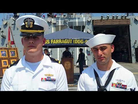 #FleetweekNYC: Sailors on #USSFarragut