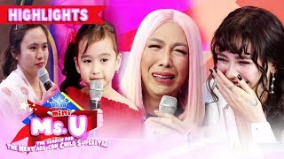 Gambar cover Arci and Vice get emotional   It's Showtime Mini Miss U