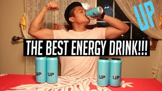 MY NEW FAVORITE DRINK!   BLUE UP ENERGY REVIEW