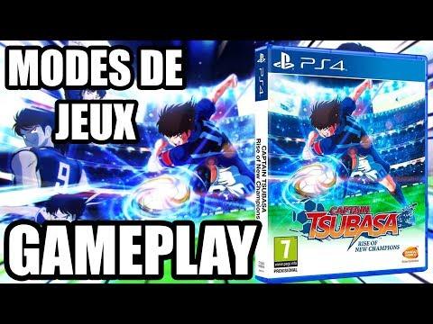 GAMEPLAY CAPTAIN TSUBASA PS4 ! TOUT SAVOIR SUR LE JEU