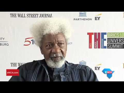 Wole Soyinka renounces US green card
