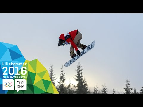 Snowboard Slopestyle - Chloe Kim (USA) wins Ladies' gold | Lillehammer 2016 Youth Olympic Games
