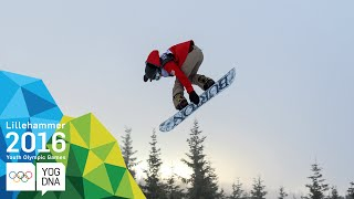 Snowboard Slopestyle - Chloe Kim (USA) wins Ladies