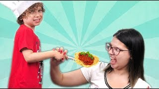 Kid and Mom Pretend Play Toy Cafe  Compilation video with Dany e Cadu