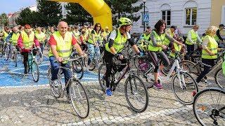 Rajd rowerowy z okazji 'Dnia bez samochodu'
