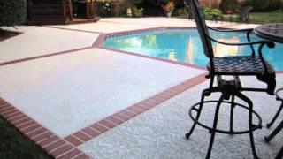 Valley Center, CA Pool Deck Remodelling : Sundek Classic Texture