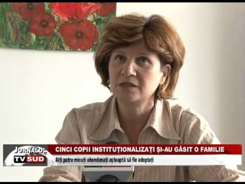 cinci copii institutionalizati