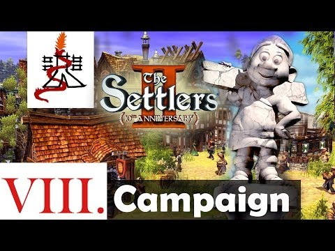 The Settlers 2 (10th Anniversary Edition) - Mission 8 | SPQR | Campaign [1080p/HD]