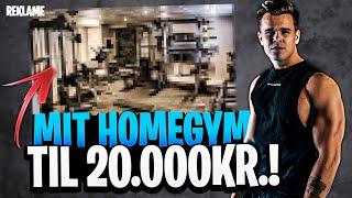 MIT NYE VANVITTIGE HOME GYM TIL 20.000 KRONER!!